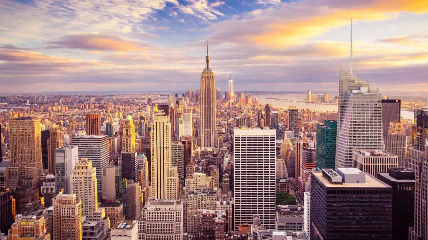 والپیپر اچ دی شهر نیویورک